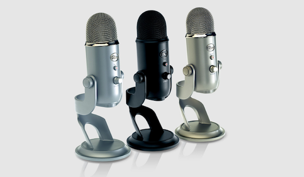 Blue Yeti range of microphones