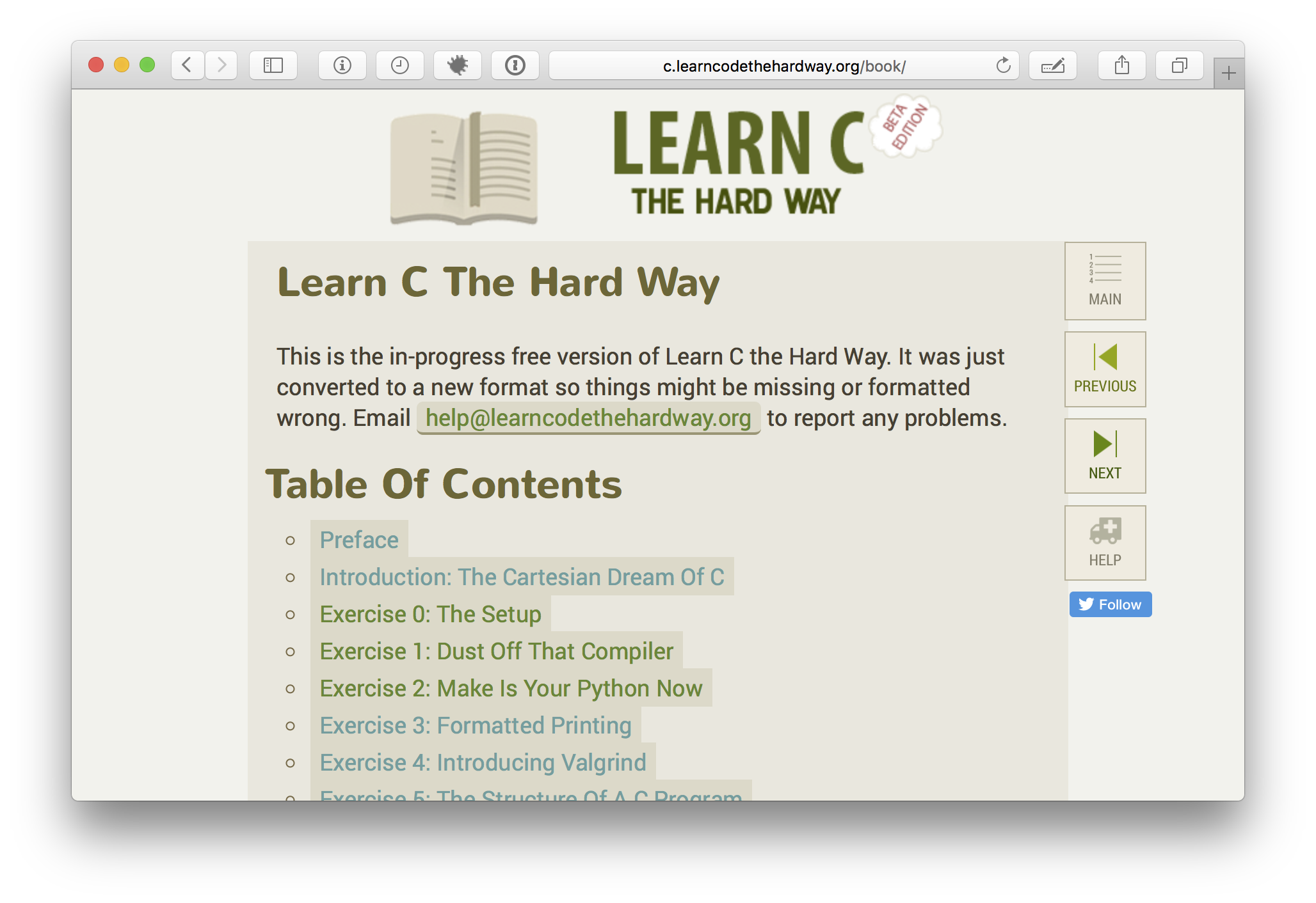 GitHub - zedshaw/learn-c-the-hard-way-lectures: All of the ...