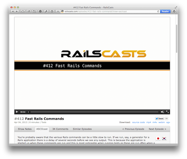 railscasts screenshot