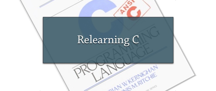 Relearning C